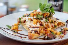 Bruschetta de poulet, salsa de cantaloupe et pancetta - L'Anarchie Culinaire selon Bob le Chef