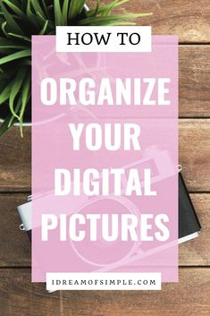Are your digital photos a hot mess? If so, you need to read this guide to declutter and organize your digital pictures with ease. You'll not only organize your digital life but you'll also be able to easily create a memorable keepsake photo album with your clutter-free photos! Photo Book, Picture Photo, Digital Photo Album, Simple Blog, Declutter Your Home, Book Projects, Hot Mess, Feeling Overwhelmed, Simple Living