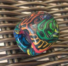 Dread Bead 12mm Large Hole Bright Rainbow by DreadyPrincessDesign, $5.25 Dreadlock Jewelry, Dreadlock Accessories, Natural Hair Accessories, Natural Hair Styles, Feelin Groovy, Dread Beads, Hippie Life, Jewelries, Dreadlocks