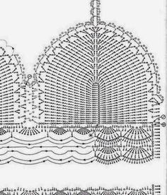 Résultats de recherche d'images pour « tops a crochet paso a paso Tops A Crochet, Crochet Bra, Crochet Bikini Pattern, Crochet Bikini Top, Crochet Diagram, Crochet Woman, Crochet Blouse, Crochet Chart, Crochet Clothes