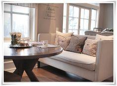 Dining sofa -  want!