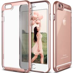Amazon.com: iPhone 6S Plus case, Caseology® [Skyfall Series] [Rose Gold] DIY Customization Fusion Hybrid Cover [Shock Absorbent] for Apple iPhone 6S Plus (2015) & iPhone 6 Plus (2014): Cell Phones & Accessories
