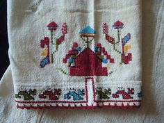 Bulgarian embrodery Bulgarian, Napkins, Towel, Embroidery, Tableware, Needlepoint, Dinnerware, Dishes, Napkin