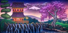 Backdrop OR023 Oriental Landscape 1