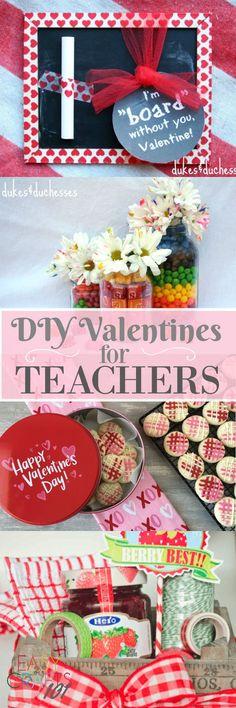 DIY Valentines for Teachers - Easy Crafts 101