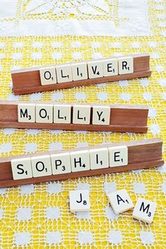 Inspiration Friday: Place names that double up as favours - Vintage Heaven