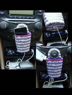 I used the idea from the website below to create a cool iPod holder for my car.  I LOVE IT!    http://www.makeit-loveit.com/2011/12/holder-for-charging-cell-phone-made-from-lotion-bottle.html?utm_source=feedburner&utm_medium=feed&utm_campaign=Feed%3A+MakeItAndLoveIt+%28Make+It+and+Love+It%29