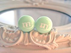 M candy plugs gauges 10mm 00G mint light blue by DinaFragola, $15.00
