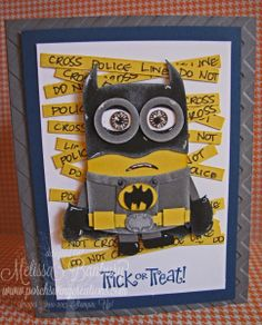 Batman Minion Punch Art
