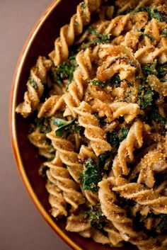 The warm, nutty flavor of good varieties of whole wheat pasta is robust enough to stand up to intense, complicated sauces, yet satisfying with just a little butter and Parmesan shaved over the top.