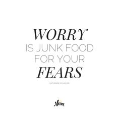 Ever feel like worry is just part of the hustle? Truth: healthy fear (human) *can* motivate us but worry (repeat thoughts that weigh us down) doesn't serve us.