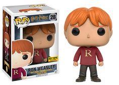 Funko Pop! Vinyl - Harry Potter - RON WEASLEY (In Weasley sweater) Exclusive to Hot Topic