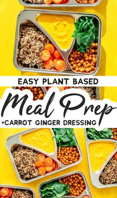 Looking for a vegetarian meal prep recipe that's high in protein and so tasty that you're actually excited for lunch time? I've got you covered. Vegetarian Meal Prep, Lunch Meal Prep, Vegetarian Recipes Easy, Lunch Time, Beef Recipes, Healthy Recipes, Vegan Vegetarian, Lunch Recipes, Healthy Food