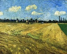 The Ploughed Field, 1888, Vincent van Gogh    Size: 72.5x92 cm  Medium: oil on canvas