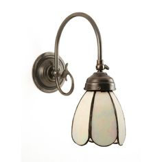 traditional victorian reproduction wall light with iridescent tiffany petal shade adfix ironmongery lighting hanging pendant lights