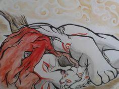 The Lion King crossed with Okami - okami-amaterasu Fan Art