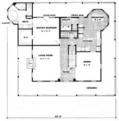 Designers' Collection Home Plans, Plan L-088-VB  ##architecture #drawing Pinned by www.modlar.com