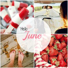 June #By_ShonA #months #Moodboards #Mosaic #Collage