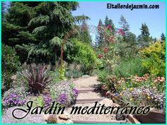 Garden by Temari 09 Dry Garden, Garden Paths, Garden Ideas Australia, Mediterranean Garden Design, Mediterranean Style, Drought Tolerant Landscape, Landscape Design Plans, Xeriscaping, Garden Makeover