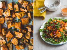 Snelle linzenschotel met zoete aardappel. Voor de basis van dit recept gebruiken we een Zonnatura maaltijd.