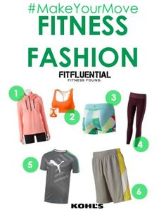 #MakeYourMove Top picks for performance gear and fit fashion from partner @kohls