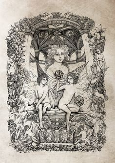 Mournful Chronicles» and the «Consonance» by D.S. on Behance   Illustration   Ilustração   Desenho   Diseño   Drawing   Draw   Pen   Pencil   Handmade   Hand   Dark   Evil  