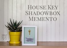 Shrimp Salad Circus: House Key Memories Shadow Box . How To-sday #SculpeyProjects