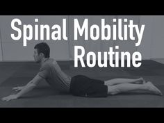 Spinal Mobility Routine - Back Stretches You Can Do Everyday - YouTube