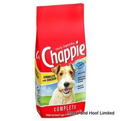 Chappie Chicken Cereal Chappie Dry dog food is ideal for many pet dogs as a complete food Chappie dry with chicken and whole grain cereal contains no artifical colours, flavours, added sugar, eggs or dairy.