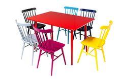 Krzesło Ironica TON Buk Pantone Ral