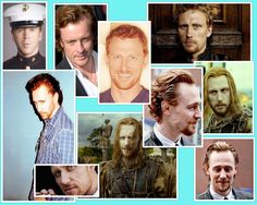 References for my character Levi Caulder. Kevin McKidd, Damien Lewis, Toby Stephens, and Tom Hiddleston.
