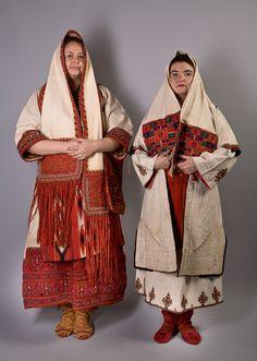 Традионные женские костюмы Македонии