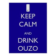 Drink Ouzo