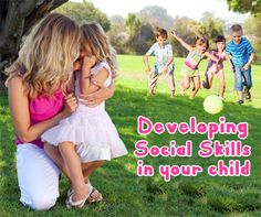#Developing Social Skills in #Toddlers and #Babies: Did you know that your child has a busy social life from the moment she is conceived? Her personality starts developing when she is still in the womb! Playing peek a boo is a great way of developing social and emotional skills. hiding behind  your hands allows them to see that you are gone but when you say boo they see that you are back and they realize that they are okay.