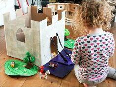 Say goodbye to fancy and expensive toys and say hello to saving some money. Check out our list of cool toys made from cardboard boxes and lots of creativity