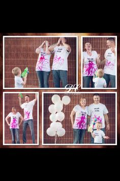 It's a girl! Gender reveal.