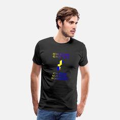 Ich muss gar nix Ich muss nur nach Schweden Männer Premium T-Shirt Sweat Shirt, Pajama Shirt, Retro Vintage, T Shirt Vintage, T Shirt Designs, T-shirt Humour, Pull Sweat, T-shirt Logo, Sweatshirts