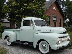 1951 Ford F1 Pickup Truck Original 239 Flathead