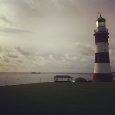 """See 443 photos from 1669 visitors about scenic views, ice cream, and picnics. """"It's a wonderful place, you have the lighthouse and beautiful views. Plymouth Hoe, Cn Tower, Devon, Four Square, Places To Visit, Building, Travel, Viajes, Buildings"""