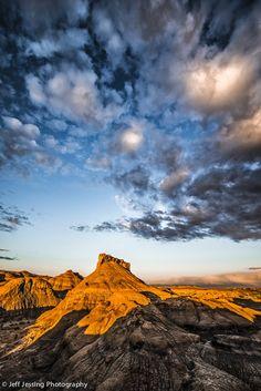 Badlands, New Mexico, USA