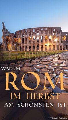 Ein freier Platz auf der Spanischen Treppe in Rom? Der ist im Sommer meist gar nicht so leicht zu finden. Im Herbst ist das kein Problem. Dann lässt sich die Ewige Stadt ohne Hektik und Gedränge besichtigen. TRAVELBOOK hat die besten Tipps!