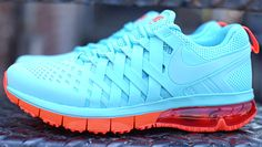 Nike Fingertrap Max NRG Polarized Blue & Total Crimson