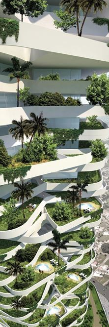 Oxygen Eco-Tower - Picture gallery