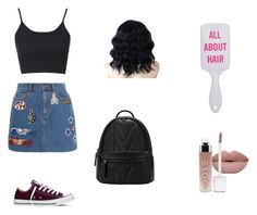 """""""All in the details"""" by anyaxx ❤ liked on Polyvore featuring Marc Jacobs, Topshop and Converse"""