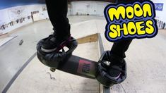 CAN YOU SKATE WEARING MOON SHOES?! *DEADLY* – Braille Skateboarding: Braille Skateboarding – Christmas Sale in the Braille Shop!…