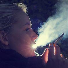 Smoking Star by Thomas Bach Nielsen
