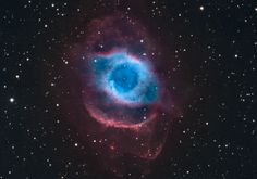 The Helix Nebula. It looks like a giant eye, doesn't it? Gives me the creeps, but I like it!
