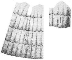 Sable - Схема раскроя и расположение шкурок на деталях скроя