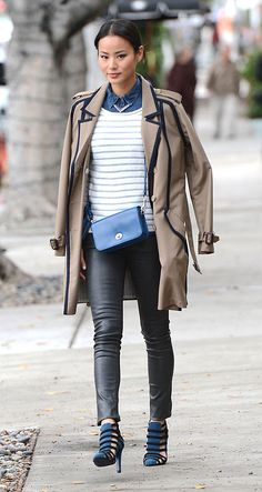 Jamie Chung's lovely shoes