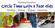 Teaching 2 and 3 Year Olds: Preschool Circle Time